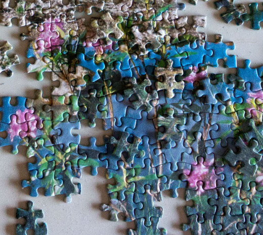 Jigsaws can be hard or easy to assemble, they can be an enjoyable task or a frustrating task depending on the difficulty of the design.