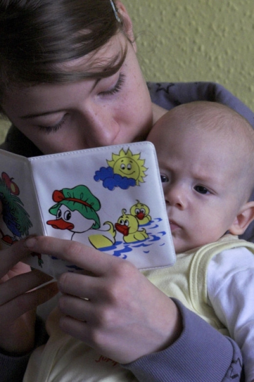 Begin reading books to your child when they are a baby.