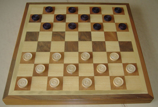 Draughts seems like an easy game, but one mistake and you will lose.