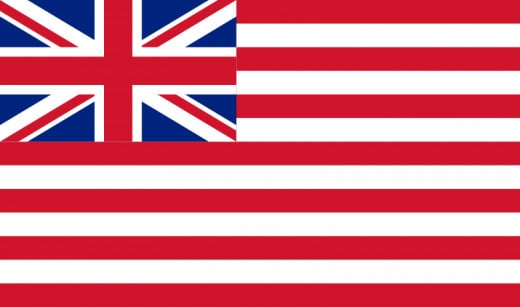 British East India Company Flag 1801