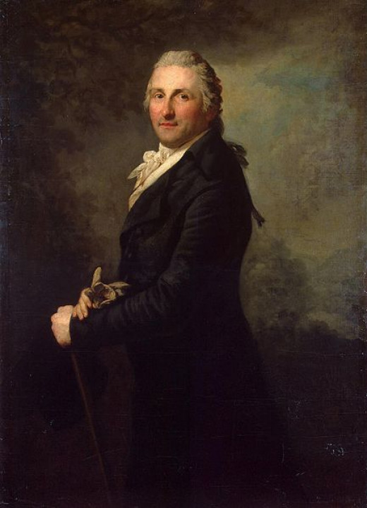 Anton Graff (1736-1813) painted this portrait of George Leopold Gogel in 1796.