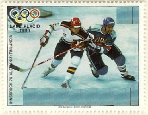 Hockey is one of the big events in the Winter Olympics