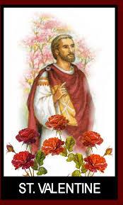 An artist's depiction of St. Valentine.