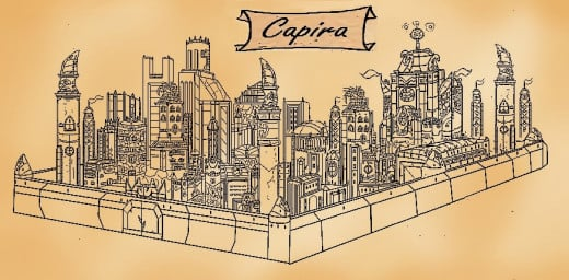#3  Capira, the Capital City of Kira