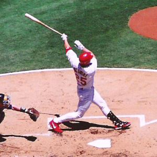 Big Mac Mark McGwire blasted 70 homeruns in the unforgettable home run race of 1998.  Yet he will probably never see the Hall of Fame due to his connections with steroids.
