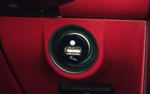 flush car charger