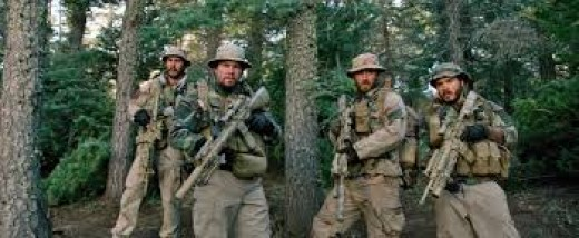 Taylor Kitsch, Mark Wahlberg, Ben Foster and Emile Hirsch play an elite SEAL unit tasked with executing a key Taliban commander in Lone Survivor