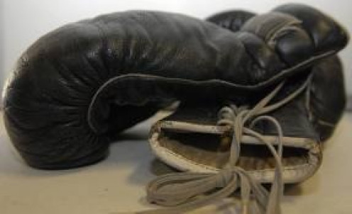 Boxing gloves help protect boxers hands from getting broke during boxing matches.