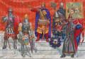 HUNDING'S SAGA - 23: THE DEED DONE, Hunding's Crew Must Flee To Holmgard With Basil's Crown!