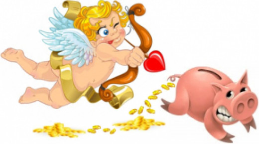 Love shouldn't hurt your piggy bank.