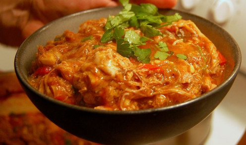 A classic Hungarian Goulash, sans meat
