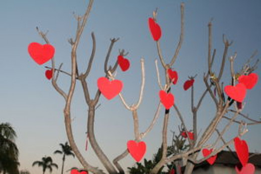 This Valentine Tree will bring tears to someone's eyes