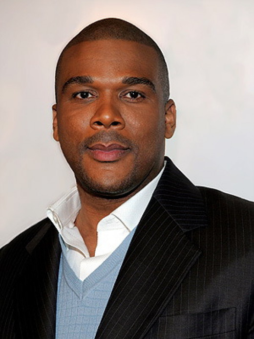 Tyler Perry, actor/producer/direction best-known for Madea character who he portrays; movies include Good Deeds, Why Did I Get Married?, Temptation, & I Can Do Bad All By Myself