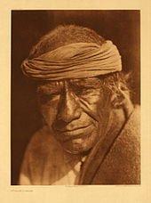 Tuvahe, photographed at Jemez Pueblo by Edward S. Curtis.