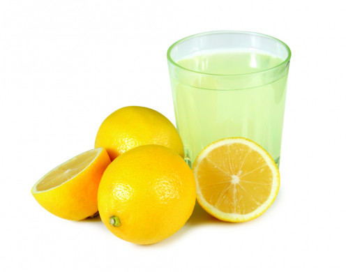 Lemon Juice can be used to exfoliate and bleach dark knuckles