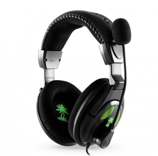 Turtle Beach X12 Ear Force gaming headset(with amplified stereo sound)