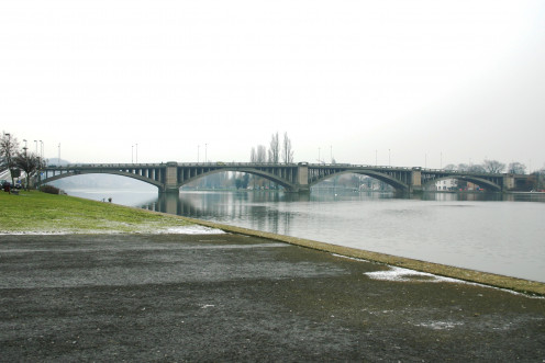 Visé Bridge in 2005