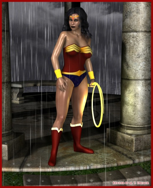 The fan art is by me, but Wonder Woman is the property of DC Comics.