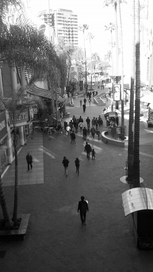 Citywalk during a slow day.