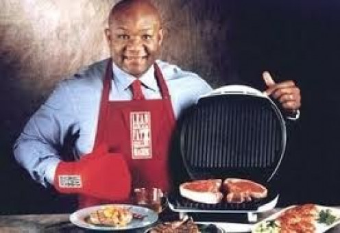 George Foreman crossed over from just a boxer to a celebrity when he started selling his now famous grills.