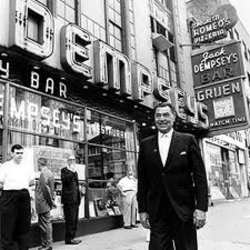 Jack Dempsey's Broadway Restaurant was located in New York and because of Dempsey's popularity it was a big success.