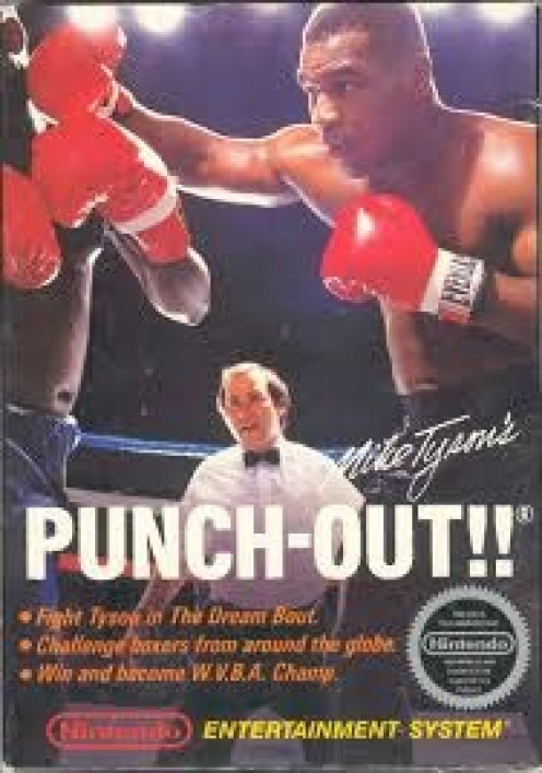 Mike Tyson had his own Nintendo game and he was famous for his in and out of the ring battles.