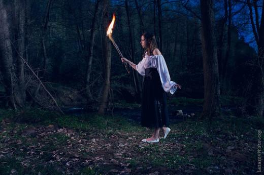 Fire torch from Tihomir Lazarov flickr.com