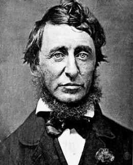 Portrait by Benjamin D. Maxham of Henry David Thoreau in June 1856.