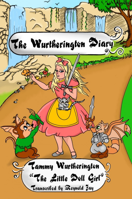 Final Cover of the Wutherington Diary #1