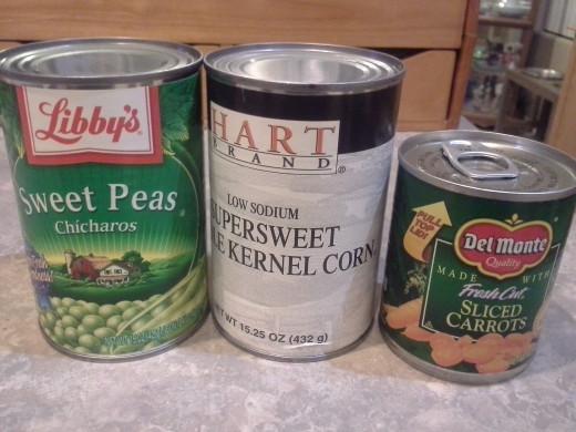 Step Fifteen: Prepare your veggies