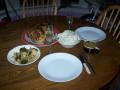 Roasted Chicken dinner by Gene Munson Barry