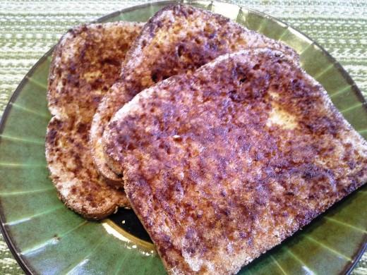 Deliciously Easy, Crunchy Cinnamon Toast