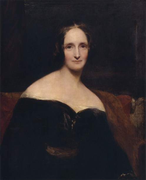 Mary Shelley who wrote the famous Gothic novel, Frankenstein was Percy Shelley's second wife.