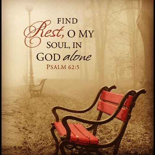 Resting in God's Arms Brings An Abundance of Comfort