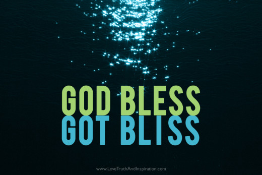 Blessings From God Gives You Great Bliss