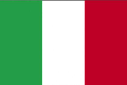Italian flag.