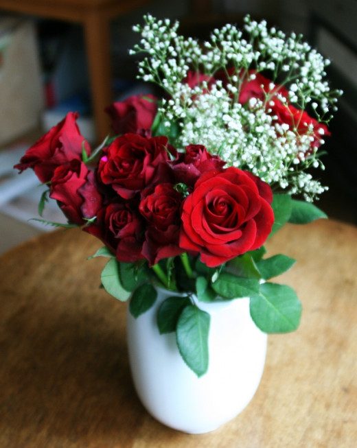 Don't forget to pick up flowers for your sweetie before your date starts!