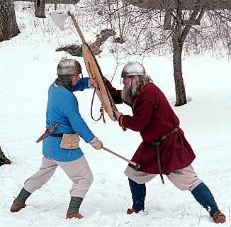 Combat skills - the time for honing skills needed during the raiding season, the 'viking' season was winter