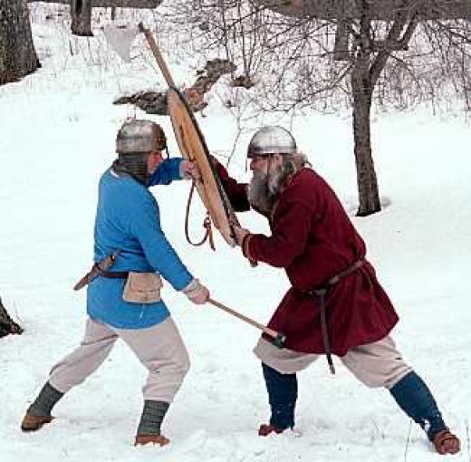 Combat skills - the time for honing skills needed during the raiding season, the 'viking' season was winter