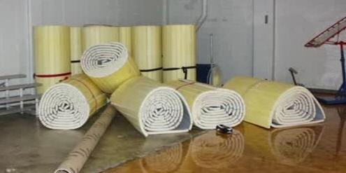 The gym mats