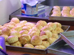 Making Cheese Scone at Home