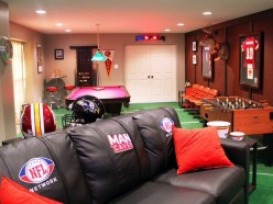How To Turn a Basement Into The Ultimate Man Cave