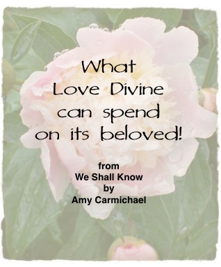 Amy Carmichael's poetry in Mountain Breezes continues to uplift and strengthen Believers.