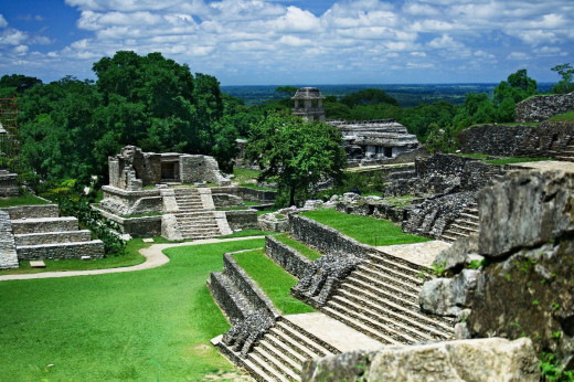The Ruins Of The Maya Civilization.