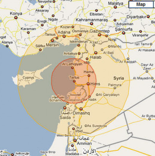 The range of the missile from Syria, Lebanon is ever closer to Israel.