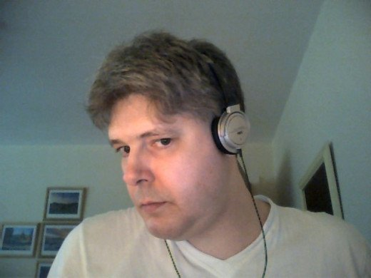 Self photograph taken in August 2010