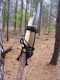 You can make a dagger from your survival knife