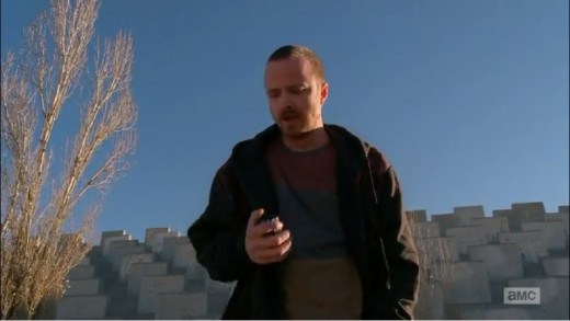 Heul , steals Pinkman's weed