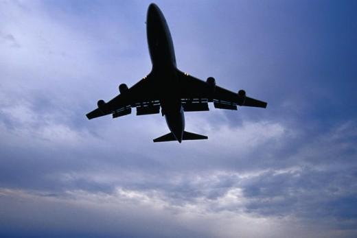 747 Jet taking off