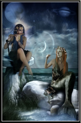 Witches and Mermaids were the same people